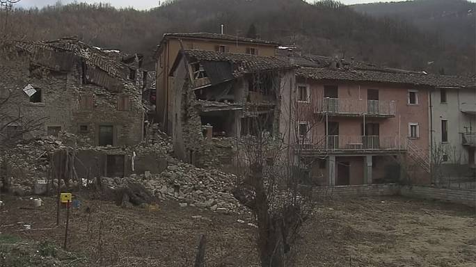 Újabb földrengés Olaszországban