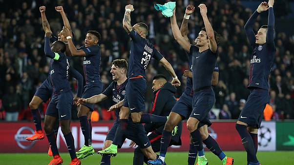 PSG eye CL quarters after battering Barcelona