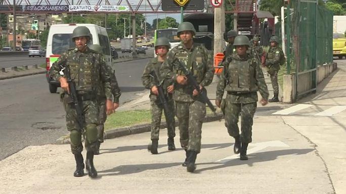 ارتش برزیل برای برقراری امنیت در ریودوژانیرو مستقر شد