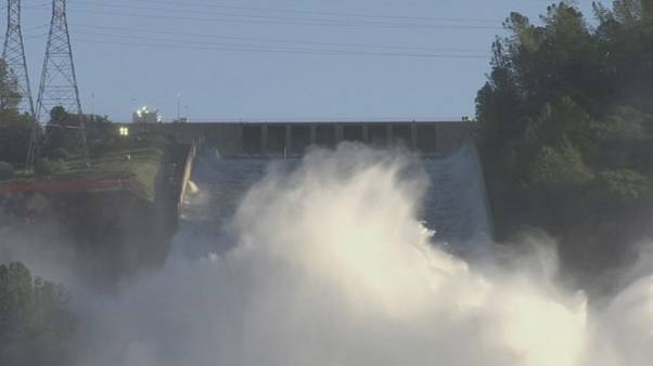 Vorsichtige Entwarnung: Maroder Staudamm in Kalifornien hält vermutlich