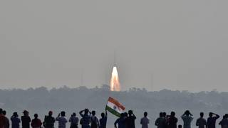 India claims record for multiple satellite launch