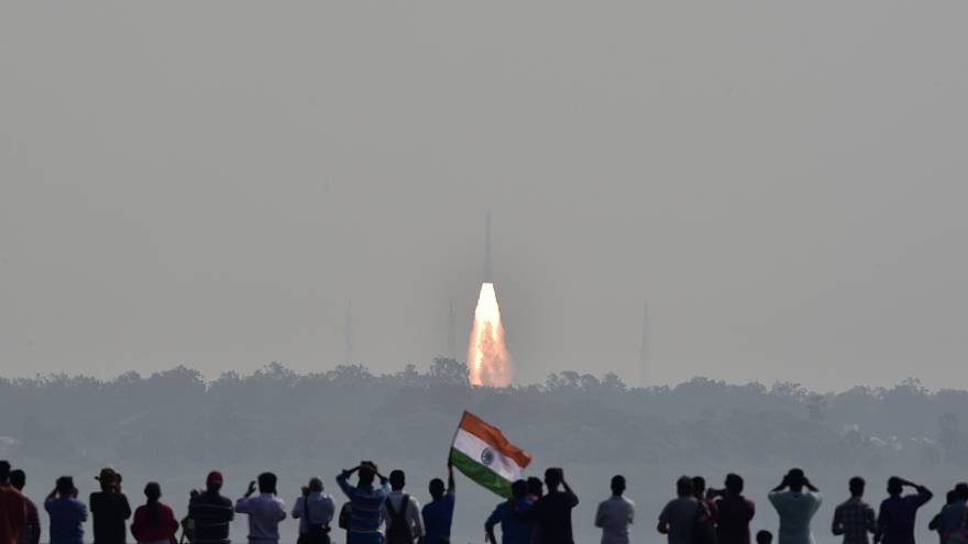 L'Inde met en orbite 104 satellites, un record