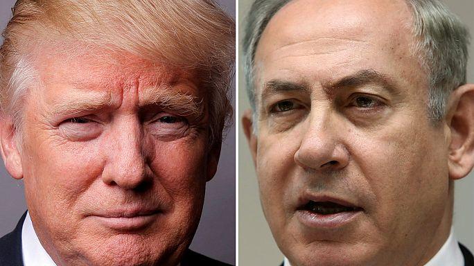 Trump-Netanjahu találkozó lesz Washingtonban