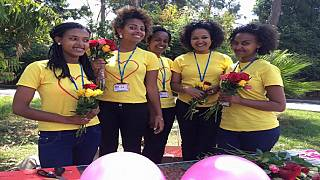 Ethiopian women use Valentine's Day to promote girl power