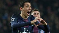 UCL: Di Maria strikes twice as PSG thrash Barca 4-0