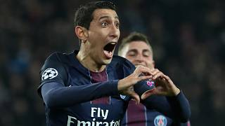 UCL: Di Maria strikes twice as PSG thrash Barca 4-0