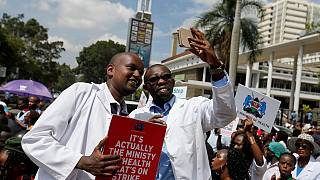 Kenyan court of appeal frees striking doctors after 2-days behind bars