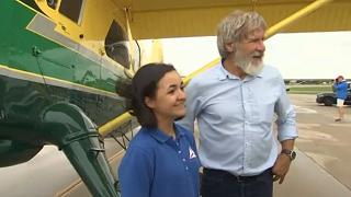 Harrison Ford in near-miss at California airport