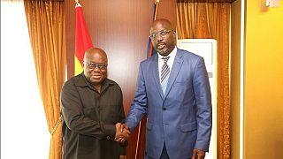 Présidentielle au Liberia : George Weah est allé chercher le soutien du président ghanéen