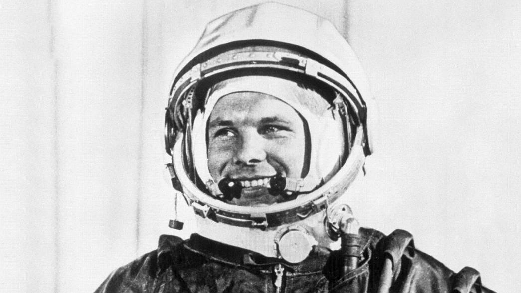 """""""Lendas do Espaço"""": Yuri Gagarin"""