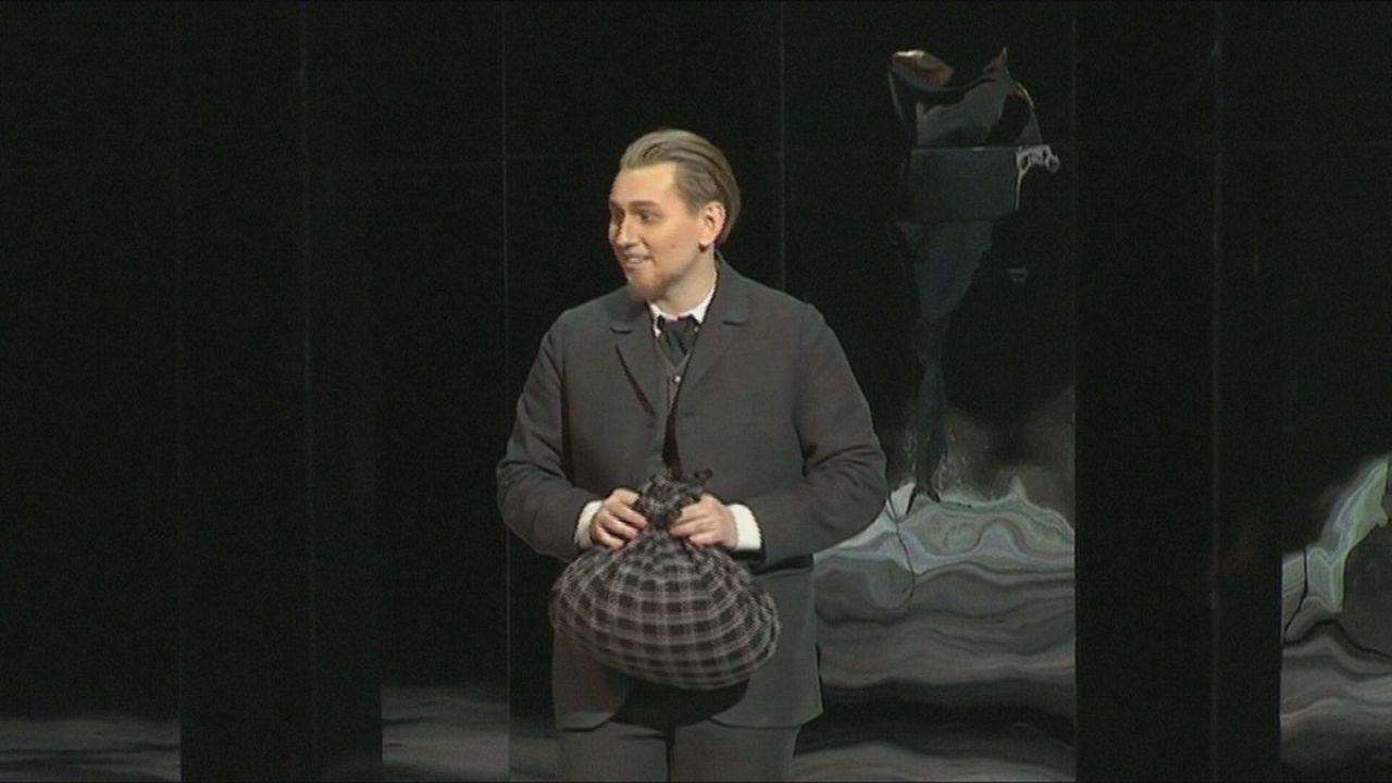 اجرای اپرای «ابله» در مسکو