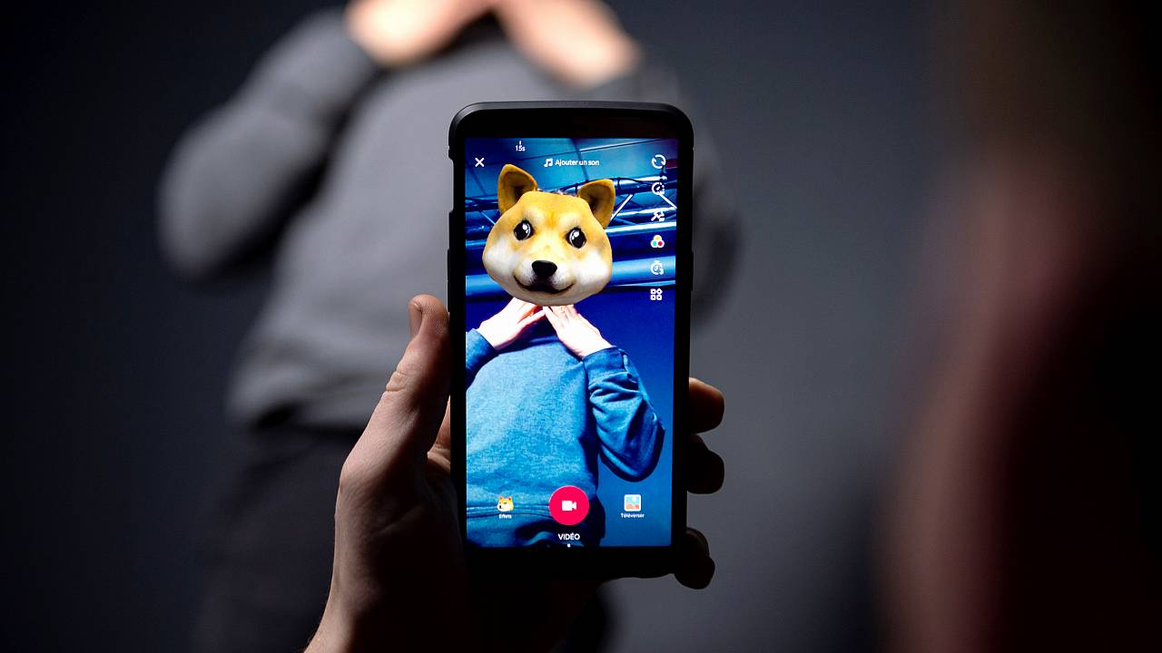 The smart phone application TikTok, a Chinese short-form video-sharing app,