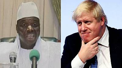 The Gambia got rid of 'the guy holding things up' – Boris jabs Jammeh
