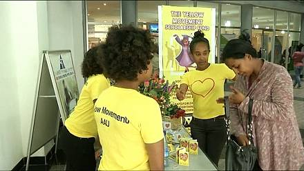 Ethiopian students use Valentine's Day to help deprived colleagues [no comment]
