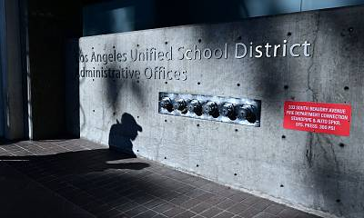 The teachers union for the Los Angeles Unified School District says negotiations with the district have reached an impasse and a strike is likely Monday.