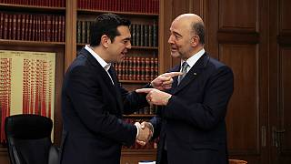 Grèce : à Athènes, Moscovici plaide le compromis