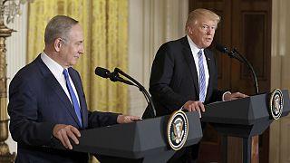 """Trump aceita solução de """"um ou dois Estados"""" para conflito israelo-palestiniano"""