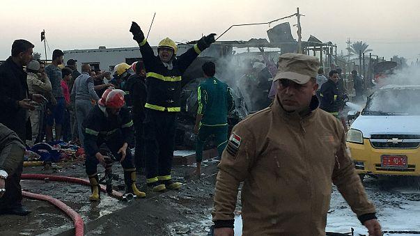 عشرات القتلى والجرحى في تفجير بسيارة مفخخة استهدف مدينة الصدر العراقية