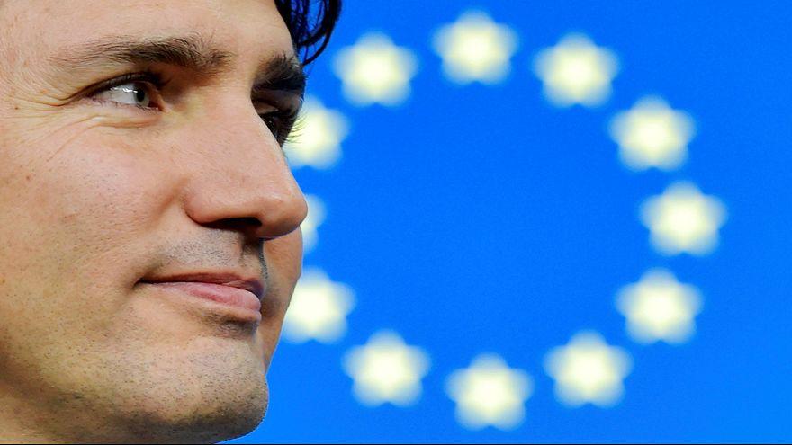Una amplia mayoría de eurodiputados vota a favor del CETA