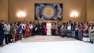 Papst: Inklusion indigener Völker