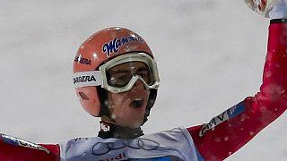Штефан Крафт победил на олимпийском трамплине в Пхёнчхане