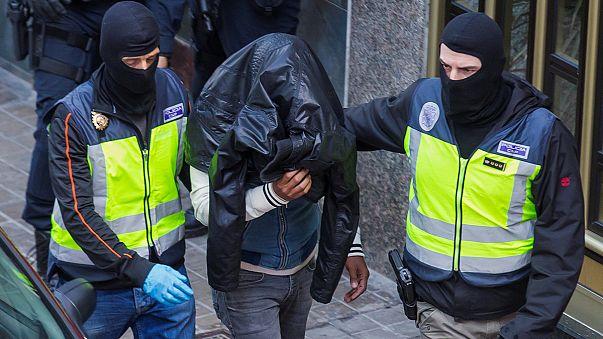 Rácsok mögött a terroristák két spanyol támogatója
