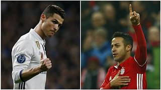 """#LigaCampeões, 1/8 final: Real Madrid e Bayern de Munique com a chave dos """"quartos"""""""
