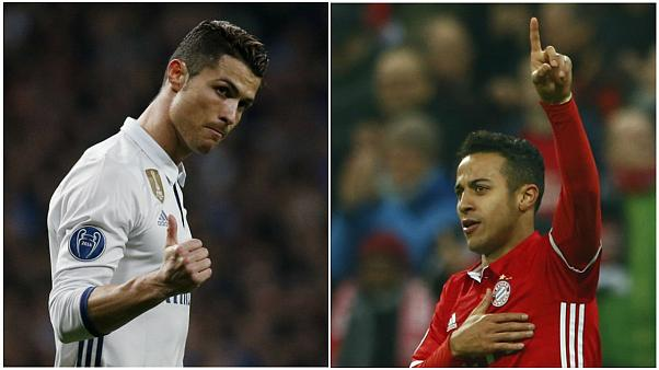 Real Madrid beat Napoli, Arsenal outgunned by Bayern