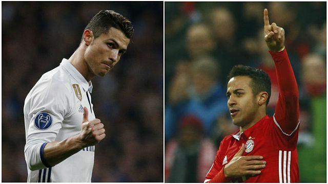 Real Madrid y Bayern golean y se acercan a cuartos de la Liga de Campeones