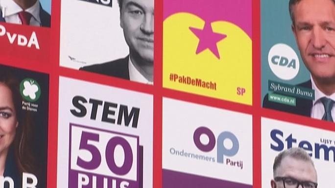 Campaigning underway for Dutch election