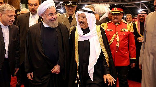 """Rohani, en Omán y Kuwait para aclarar los """"malentendidos"""" con las monarquías del Golfo"""