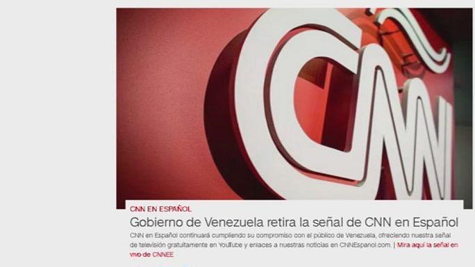 Venezuela blockiert CNN