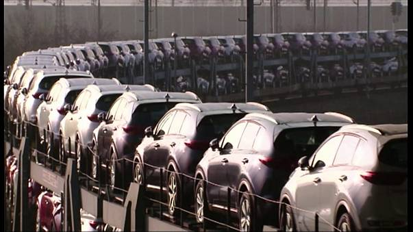 European car sales jump, VW strong, PSA and Opel less so