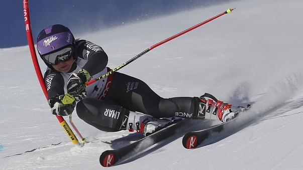 Büyük slalomun kraliçesi Worley
