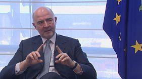 """Pierre Moscovici, comisario europeo: """"Es necesario un ministro de Finanzas"""""""