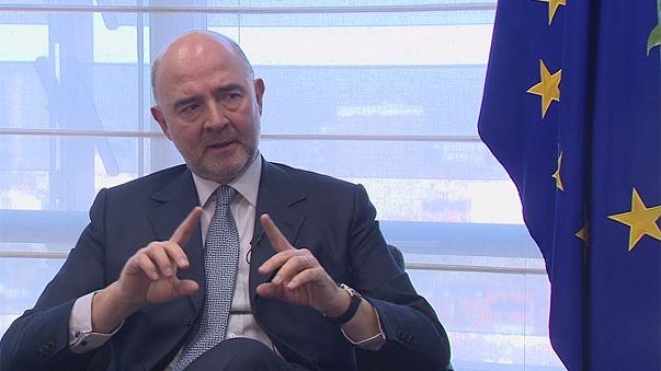 """Moscovici: """"Die Eurozone braucht einen Finanzminister"""""""
