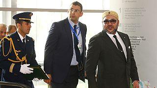 Le roi du Maroc Mohamed VI entame une tournée africaine par le Ghana