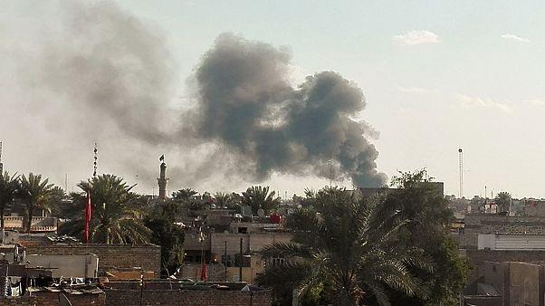 عشرات القتلى والجرحى بسبب انفجار في بغداد