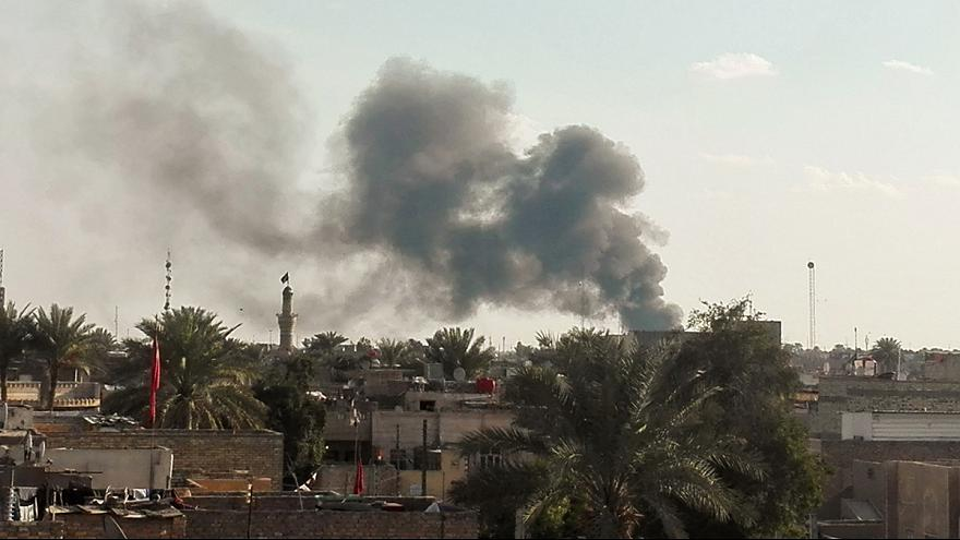 Al menos 55 muertos por la explosión de un coche bomba en Bagdad