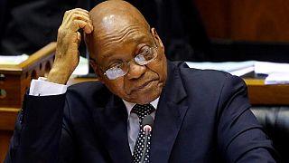 Selon Jacob Zuma, les députés de son pays traitent le Parlement comme ''une salle de bière''