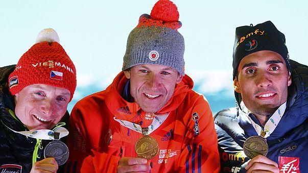 Lowell Bailey gewinnt Biathlon-Klassiker in Hochfilzen