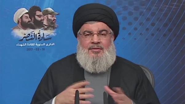 Hezbollah chief Hassan Nasrallah threatens to hit Israel's Dimona nuclear facility