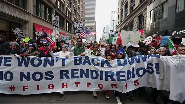 USA: ezrek az utcákon - Egy Nap a Bevándorlók Nélkül