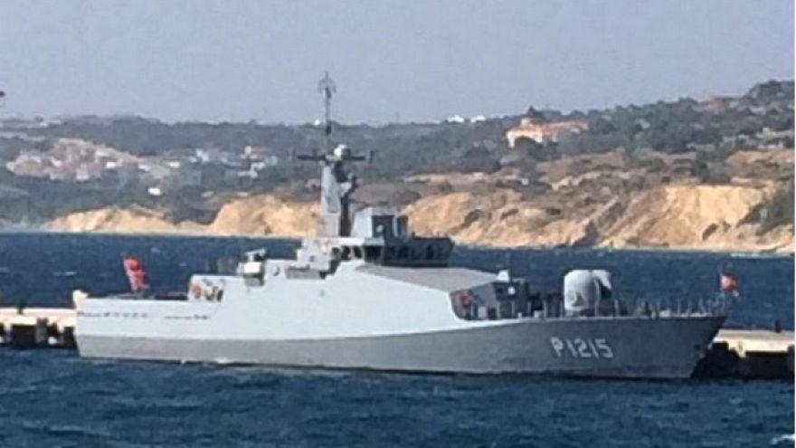 "Yunanistan: ""Türk savaş gemisi Yunan kara sularında"""