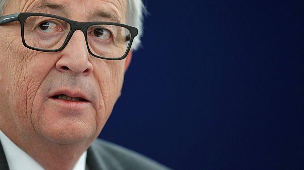 """Juncker: no a las negociaciones individuales sobre el """"Brexit"""""""