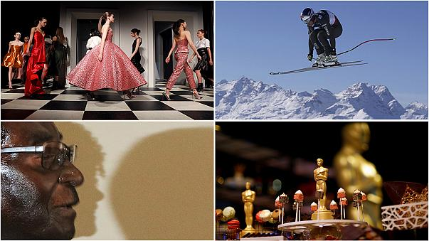 Fashion, film and flying Frenchman - the best of this week's pictures