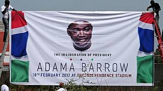Top US official in The Gambia for Barrow's inauguration