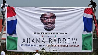 New Gambia President Adama Barrow to be inaugurated