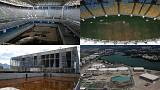 ملاعب ومرافق ريو تعاني الاهمال بعد انتهاء الالعاب الاولمبية