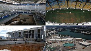 Videón a riói olimpiai helyszínek pusztulása
